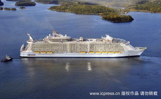 La Finlande livre le navire le plus grand paquebot au monde