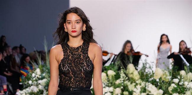 Semaine de la mode de New York: défilé des créations de Calvin Luo