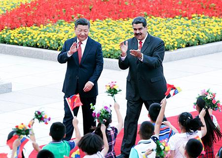 Xi Jinping et Nicolas Maduro s'engagent à porter les relations bilatérales à un niveau plus élevé
