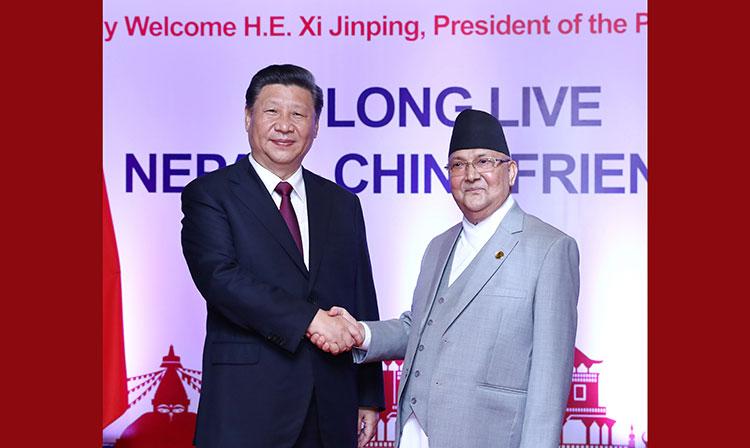 La Chine est prête à renforcer sa coopération amicale avec le Népal, déclare Xi Jinping