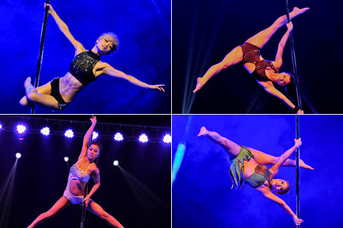 Photos - le 3e championnat de pole dance de Chine