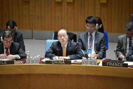 """La Chine exhorte à une solution politique à la crise en Ukraine """"par le biais du dialogue et non pas de la confrontation"""""""