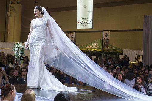 Canada: un salon de la mariée à Toronto