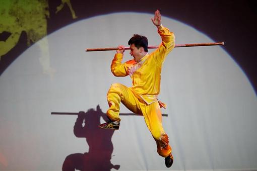 """Etats-Unis : spectacle de Wushu """"China Day"""""""